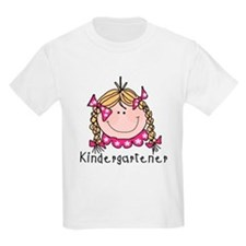 Kindergarten Girl (blond) T-Shirt