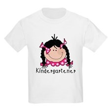 Kindergarten Girl (Black) T-Shirt