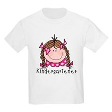 Kindergarten Girl (brown) T-Shirt