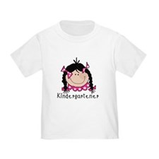 Kindergarten Girl (Black) T