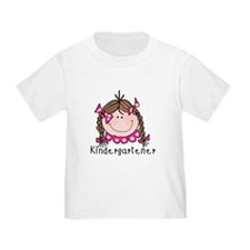 Kindergarten Girl (brown) T
