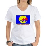 Grand Rapids MI Flag Shirt