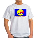 Grand Rapids MI Flag T-Shirt