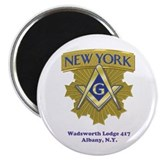 "Wadsworth Lodge 417 2.25"" Magnet (10 pack)"
