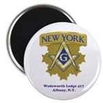 Wadsworth Lodge 417 Magnet