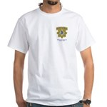 Wadsworth Lodge 417 White T-Shirt