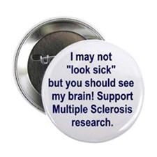 Brain On MS Button