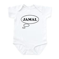 Thinking of JAMAL Infant Bodysuit