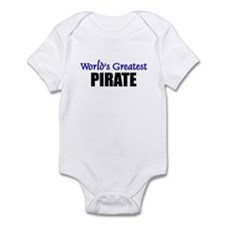 Worlds Greatest PIRATE Infant Bodysuit