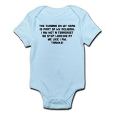 Turban on my Head - Infant Bodysuit