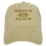 Property of Boca Raton  Baseball Cap
