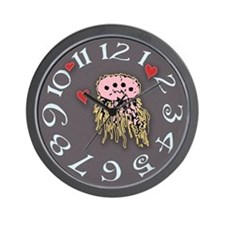 Alien Love Wall Clock