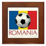 Romanian Soccer (2) Framed Tile