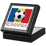 Romanian Soccer (2) Keepsake Box