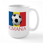 Romanian Soccer (2) Large Mug