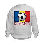 Romanian Soccer (2) Kids Sweatshirt