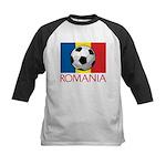 Romanian Soccer (2) Kids Baseball Jersey