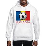 Romanian Soccer (2) Hooded Sweatshirt