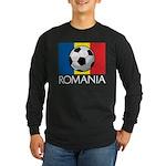 Romanian Soccer (2) Long Sleeve Dark T-Shirt