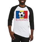 Romanian Soccer (2) Baseball Jersey