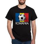 Romanian Soccer (2) Dark T-Shirt