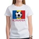 Romanian Soccer (2) Women's T-Shirt