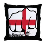 England Fist 1871 Throw Pillow