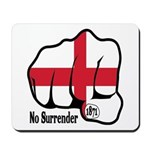 England Fist 1871 Mousepad