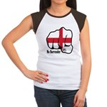 England Fist 1871 Women's Cap Sleeve T-Shirt