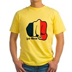 French Fist 1919 Yellow T-Shirt