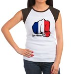 French Fist 1919 Women's Cap Sleeve T-Shirt