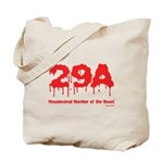 Hex Number Tote Bag