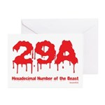 Hex Number Greeting Cards (Pk of 20)