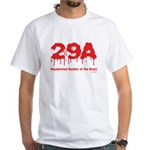 Hex Number White T-Shirt