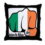 Irish Fist 1879 Throw Pillow