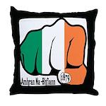 Irish Fist 1879 Throw Pillow