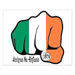 Irish Fist 1879 Small Poster