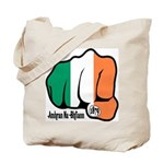 Irish Fist 1879 Tote Bag