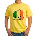 Irish Fist 1879 Yellow T-Shirt