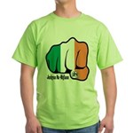 Irish Fist 1879 Green T-Shirt