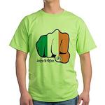 Irish Fist 1879 Green T-Shirt