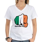 Irish Fist 1879 Women's V-Neck T-Shirt