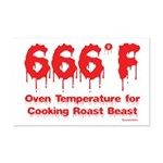 Oven Temperature Mini Poster Print