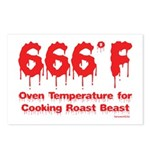 Oven Temperature Postcards (Package of 8)