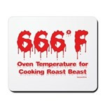 Oven Temperature Mousepad