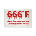 Oven Temperature Rectangle Magnet (10 pack)