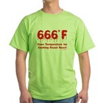 Oven Temperature Green T-Shirt