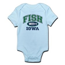 Fish Iowa Infant Bodysuit