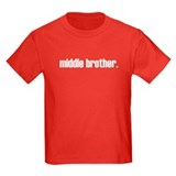 middle brother plain T