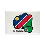 Namibia Fist 1990 Rectangle Magnet (10 pack)